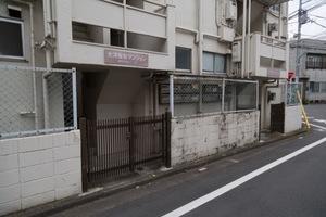 大洋桜台マンション(桜台1丁目)のエントランス