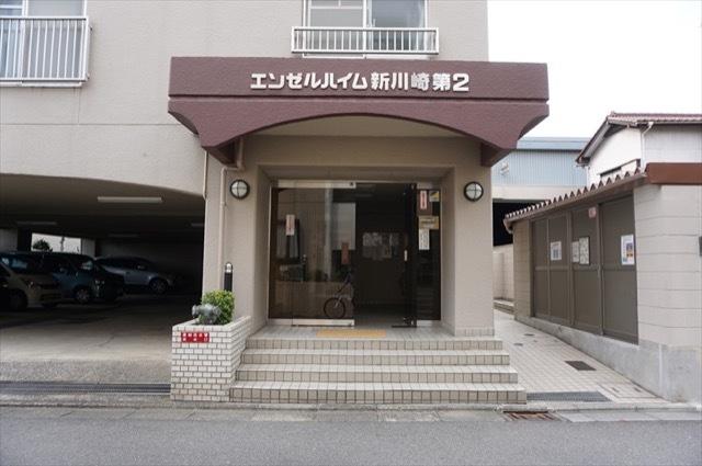 エンゼルハイム新川崎第2のエントランス