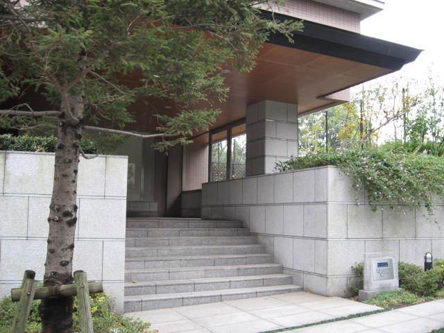藤和上石神井ホームズ武蔵野カルテットコートのエントランス
