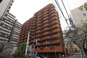 朝日江戸川橋マンションの外観