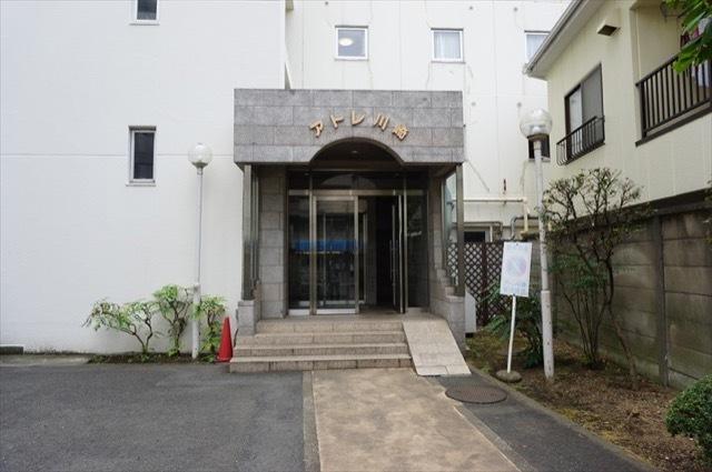 アトレ川崎のエントランス