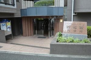 バームハイツ西葛西弐番舘のエントランス