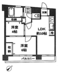 関町ファミリーマンションの間取り