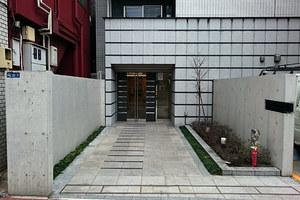 グランドコンシェルジュ蒲田イーストのエントランス