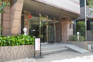 レクセルマンション竹ノ塚のエントランス