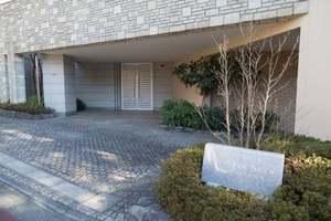 東急ドエルプレステージ瀬田(ノース・サウス)のエントランス