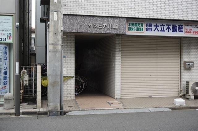 サンピア川崎のエントランス