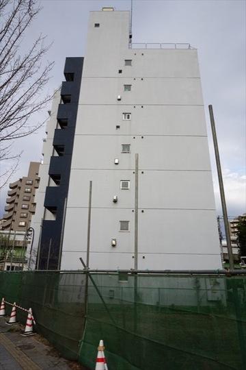 青戸三鈴コーポの外観