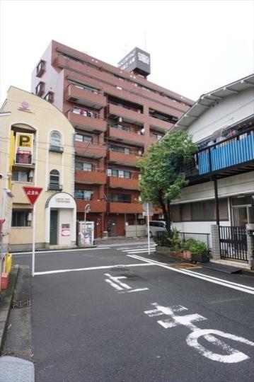 ライオンズマンション横浜第2A館の外観