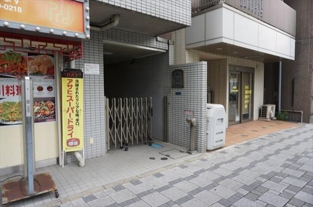 シティコープ川崎名取屋のエントランス