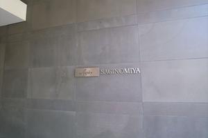 アージョ鷺ノ宮の看板