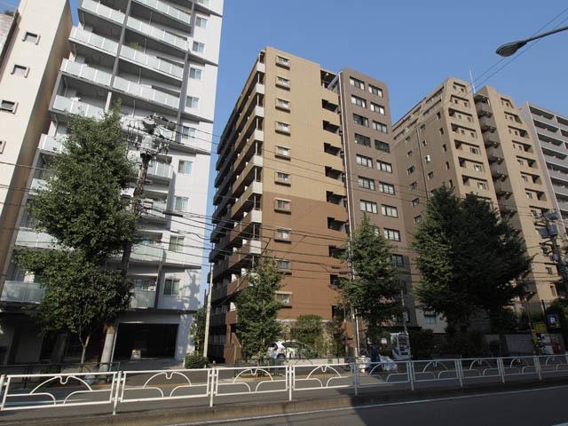 プレールドゥーク文京本駒込の外観