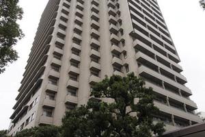 小石川パークタワーの外観
