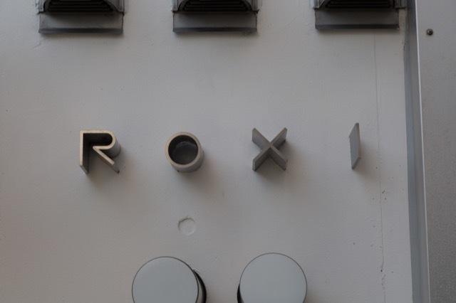 ROXIの看板