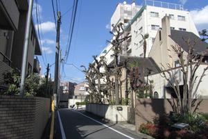 日商岩井恵比寿マンションの外観