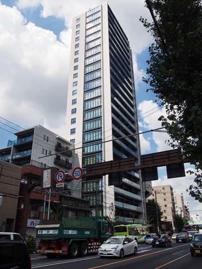 シティタワー赤羽テラスの外観