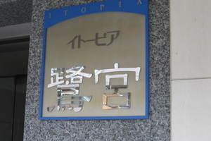 イトーピア鷺ノ宮の看板