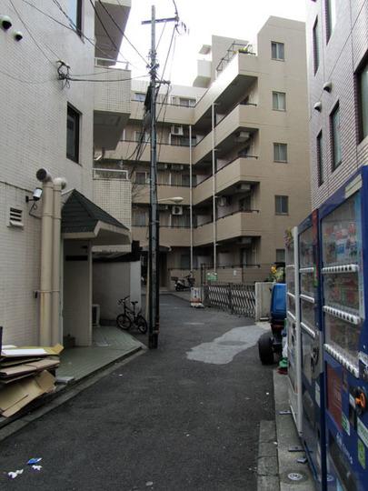 プレール渋谷壱番館の外観