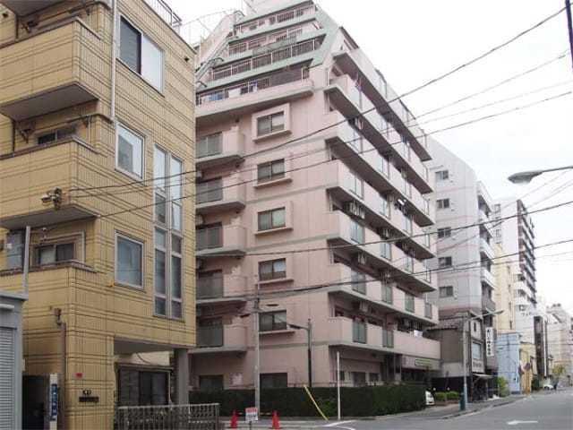 ライオンズマンション浅草寿町の外観