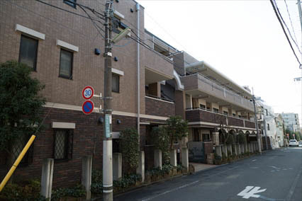 コアロード世田谷桜丘の外観