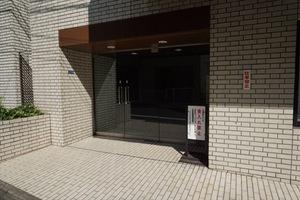 ディアシティ赤坂東館のエントランス