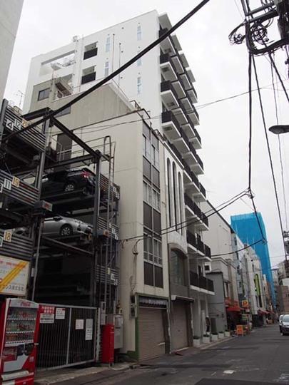 グリーンパーク東日本橋スクエアの外観