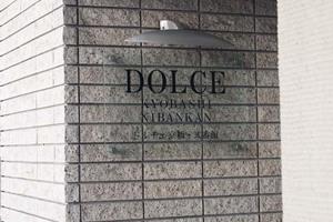 ドルチェ京橋弐番館の看板