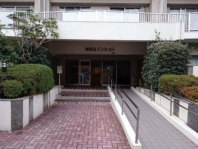日商岩井南馬込マンションのエントランス