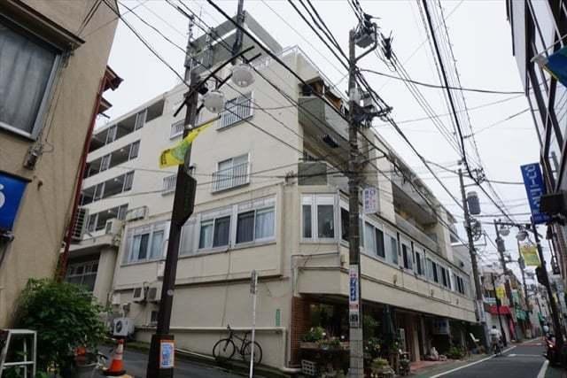 富士見台マンション(貫井3丁目)の外観
