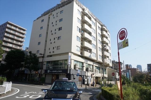コーポ富士(横浜市)の外観