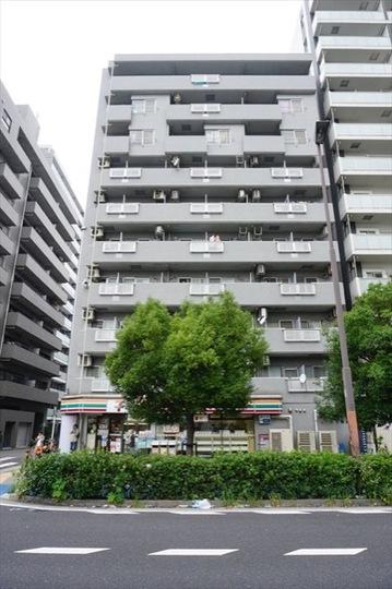 シティコート川崎の外観