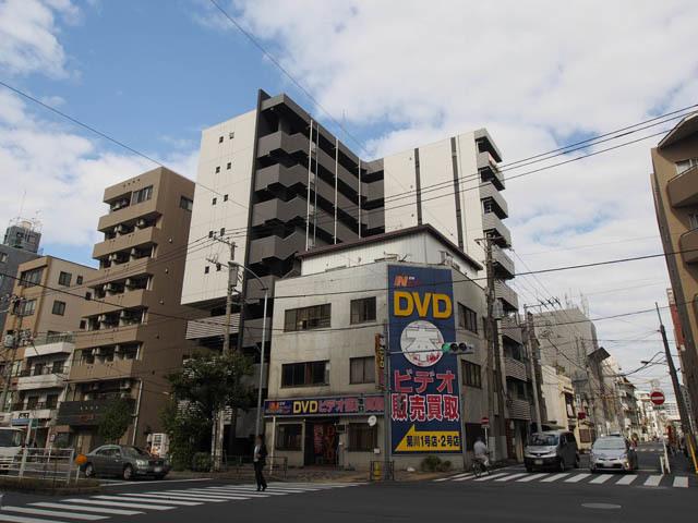 ステージファースト菊川アジールコートの外観