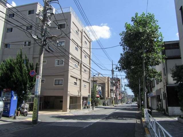 柿ノ木坂アビタシオンの外観