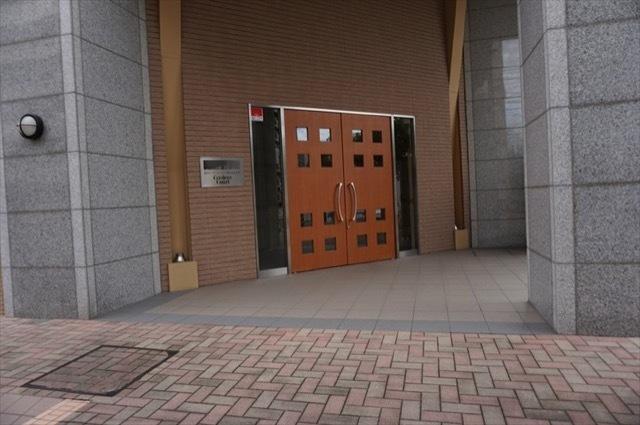 藤和シティホームズ横浜桜木町クレーデルコートのエントランス
