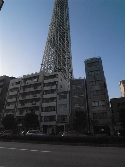 ホーユウコンフォルト隅田公園の外観