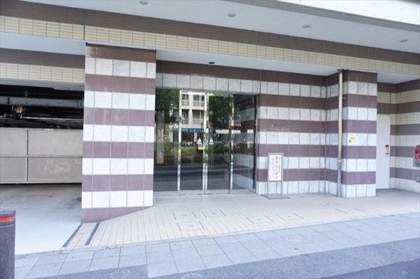 イクシア横浜鶴見のエントランス