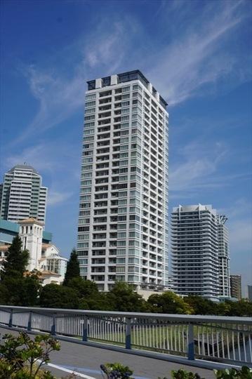 横浜ポートサイドプレイスタワーレジデンスの外観