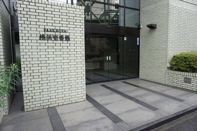 パークノヴァ横浜1番館のエントランス