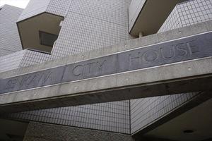 千川シティハウスの看板