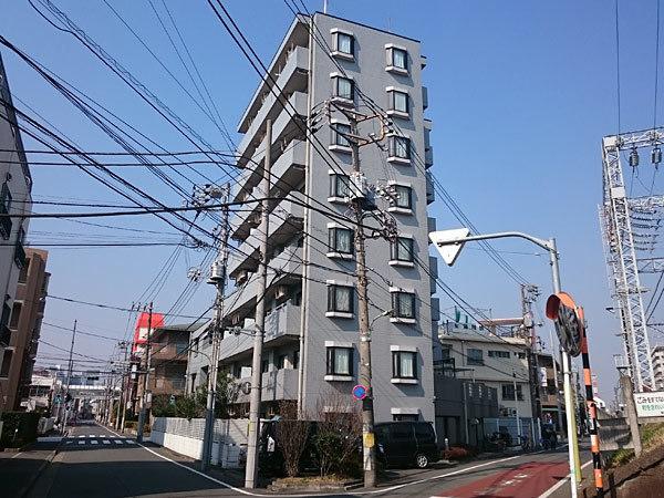 ベルジェ武蔵新田の外観
