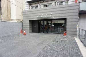 エルグランジュテ川崎のエントランス