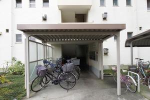 高島平団地住宅(第1〜第3)のエントランス
