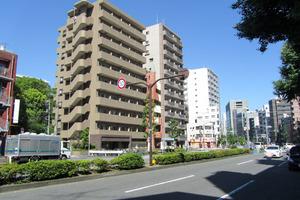 パレステュディオ早稲田パークビューの外観