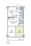 ニックハイム横須賀中央第5の間取り