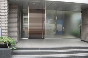 パークコート表参道のエントランス