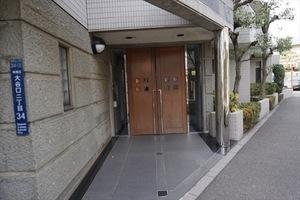 千川シティハウスのエントランス