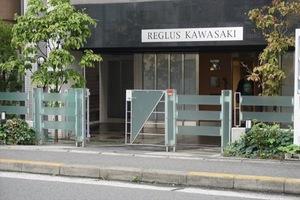 レグラス川崎のエントランス