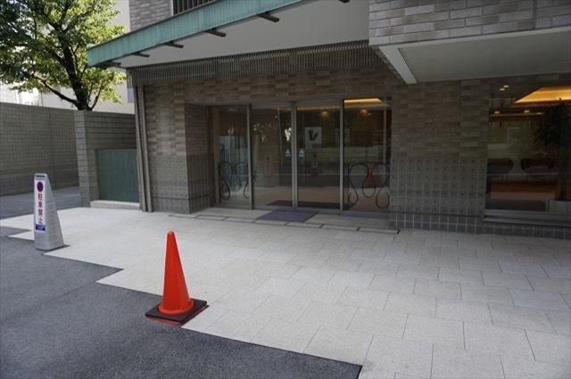 パークハウス赤坂氷川のエントランス