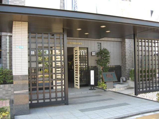 ライオンズマンション葛飾鎌倉のエントランス