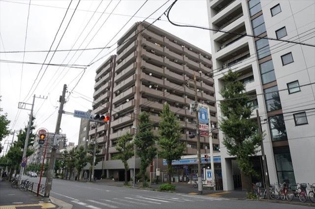 コスモ川崎アーバンフォルムの外観